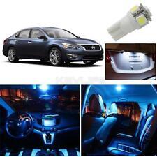 11x Ice Blue For Nissan Altima Sedan 2013-2015 Interior License Plate LED Lights