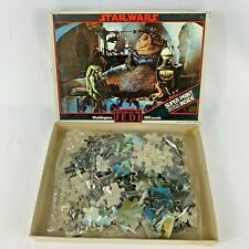 Vintage Star Wars Return of the Jedi Waddingtons Puzzle Complete with Print