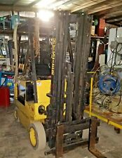 """2750# Hyster E30Xl 36V Electric Forklift 192"""" 3-Stage w/Ss New Battery= $5500"""
