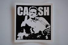 "Johnny Cash Sticker Decal Indoor / Outdoor 4"" x4"" Approx. (21)"