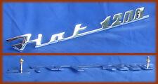 FIAT 1200 CABRIOLET SPIDER - SCRITTA LOGO BADGE SCRIPT
