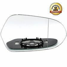 Right Driver Side WIDE ANGLE HEATED WING DOOR MIRROR GLASS Audi A6 2011-2015