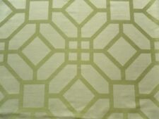 Zoffany Curtain Fabric KIRA 0.8m Leaf - Double Sided Geometric Weave 80cm