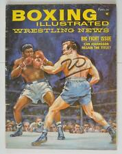 Vintage Boxing Magazine 1961 April Floyd Patterson Billy Darnell