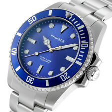Phoibos PY006B 300M Automatic Diver  Watch Blue Japanese Movement WR 30 ATM