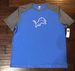 NFL TEAM APPAREL Men's Detriot Lions Football Shirt Sz. 3XL NEW BARRY SANDERS