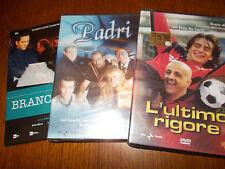 LOTTO 4 DVD FICTION RAI MARCINELLE BRANCACCIO PADRI & L'ULTIMO RIGORE