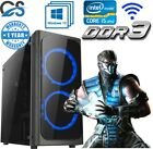 Fast Gaming Computer Pc Intel Core I7 2600 8gb 120gb Ssd Windows 10 2gb Gt710