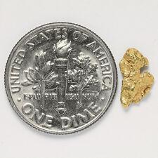 0.4192 Gram Alaska Natural Gold Nugget - (#12395) - FREE SHIPPING