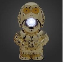 Disney Store Authentic Star Wars C-3PO Talking Flashlight NEW The Force Awakens