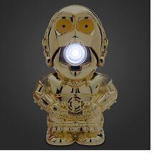 Disney Store Authentic Star Wars C-3PO Talking Flashlight NEW The Force Awakens