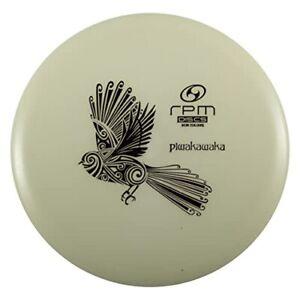 RPM Discs Piwakawaka Glow Plastic   Midrange Disc Golf Disc