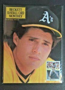 Beckett Baseball Card Monthly Oct 1990 Jose Canseco Oakland A's Gregg Jeffries