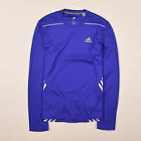 Adidas Herren Longsleeve Langarm Gr.S Running Climalite Funktionsshirt 76261