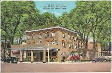 Finch Hotel North and Bungalow Court in Wisconsin Dells WI Postcard