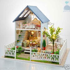 DIY Handcraft Miniature Project Wooden Dolls House My Little House In Denmark