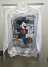 TRUE VTG MICKEY DISNEY & CO MICKEY MOUSE WHITE SWEATSHIRT JIMMNE