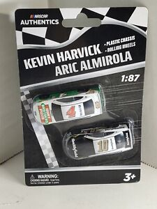 2020 Nascar Authentics Wave 01 Kevin Harvick Aric Almirola 1/87  Twin Pack