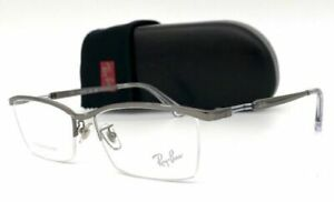 Ray Ban RX8746D 1000 Gunmetal / Demo Lens 55mm Eyeglasses