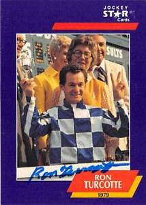 Ron Turcotte signed trading card (Jockey Horse Racing) 1992 Star #31