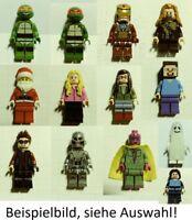 Lego schwarze kurze Haare 21778 Basics City Aaron Cash Falcon Finn Green Lantern