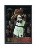 1996-97 Topps Chrome #189 John Wallace New York Knicks Card
