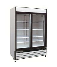 Maxx Cold Mxm2-48Rs, X-series 54x32x79-Inch Refrigerated Merchandiser, Double Sl