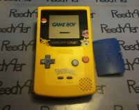 GameBoy Color Pokemon Pikachu Edition Nintendo System Blue & Yellow Game Boy GBC