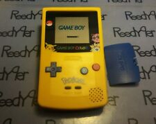 Gameboy Color Pokemon Pikachu Edition Nintendo System Blue & Yellow Game Boy Ref