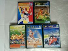 Lot 5 jeux SEGA SG-1000 très bon état import  no Megadrive Saturn Dreamcast