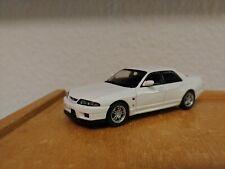 1/43 Nissan Skyline GTR R33 4-door Kyosho White OVP Saloon Sedan