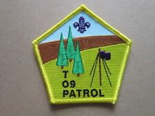 Top 09 Patrol Cloth Patch Badge Boy Scouts Scouting L5K G