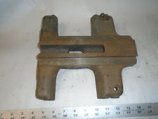 "MACHINIST MILL LATHE TOOL  South Bend  9"" Lathe Saddle"