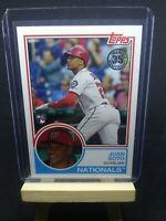 2018 Topps Update Juan Soto Rookie 1983 35th Anniversary #83-12 RC Nationals