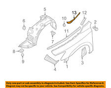NISSAN OEM 09-10 Maxima Fender-Inner Cover Right 668949N00A