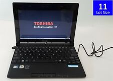 Lot of 11 Toshiba Netbook NB505-N508BL Laptops Atom N455 2GB 10.1