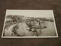 Real photographic postcard - Harbour from Zion Hill - Ramsgate - Thanet Kent