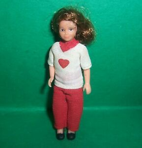VINTAGE 1970's LUNDBY DOLLS HOUSE GIRL DAUGHTER DOLL
