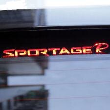For Kia Sportage R 3D Carbon Fiber Brake Light Sticker Decal 2011-2015