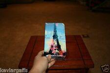 Wallet Cellphone Case Couleurs Paris Tower For Apple iPhone 6 Plus