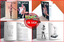 BACK TO THE FUTURE - Prop - Oh Lala Magazine including 8 pages - BTTF TRILOGY