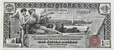 $1 United States Educational Silver Certificate Series 1896