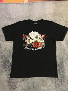 **Sehr gut** King Kerosin, T-shirt, Gr. M, schwarz, Psychobilly