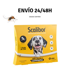 COLLAR ANTIPARASITARIO SCALIBOR 65 cm para perros - Anti Mosquitos Leishmaniosis