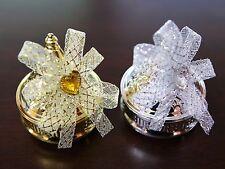 50 mini tajine à dragées métallisés mariage BTD30