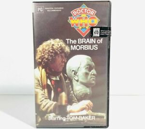 Doctor Who: The Brain of Morbius • BETA BETAMAX Tape Cassette • Dr VERY RARE