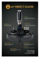 My Perfect Goatee - Men's trimmer,13 in 1 kit, for Nose & Beard, with travel bag