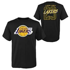 Nba t-shirt los angeles lakers lebron james showtime camisa OuterStuff camiseta