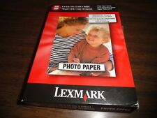 GLOSSY PHOTO PAPER - LEXMARK - 4in x 6in 48lb - 100 SHEETS