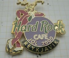 HARD ROCK CAFE / REYKJAVIK 2000 CHRISTMAS RENDEER SANTA SUIT ...HRC Pin (195i)